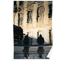 Windows Reflections - Arles, France - 2010 Poster