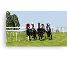 beverley races Canvas Print