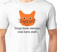 Cat staff Unisex T-Shirt