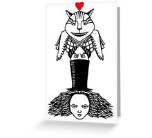 Alice Totem Greeting Card