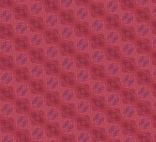 red abstract pattern by ZierNor