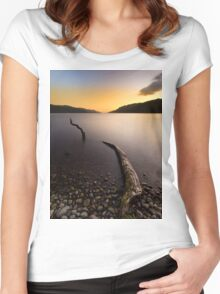 Loch Ness Monster Women's Fitted Scoop T-Shirt