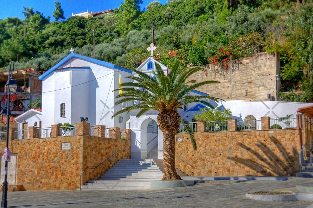 Katakolon Church by Tom Gomez