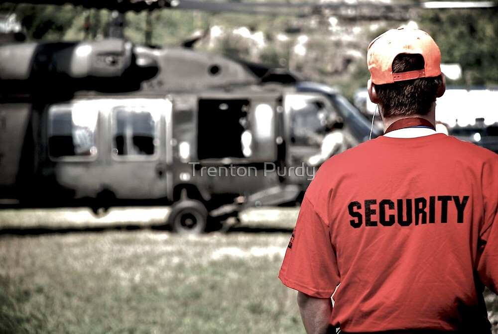 US Army Security by Trenton Purdy