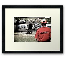 US Army Security Framed Print