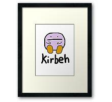 Kirby - Kirbeh Framed Print
