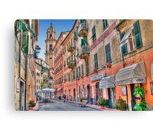 Rapallo Alley 3 Canvas Print