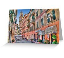Rapallo Alley 3 Greeting Card