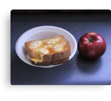 For Lunch Canvas Print