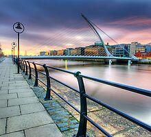 Samuel Beckett Bridge - Dublin by Gerry Chaney