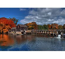 Mill - Sleepy Hollow Photographic Print