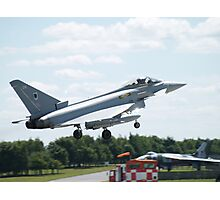 "Typhoon FGR4 ""DXI"" 11 (F) Squadron RAF Photographic Print"