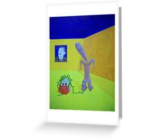Relic Resurrection before Disinterested Master Greeting Card