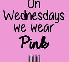 On Wednesdays we wear Pink by upsidedownRETRO