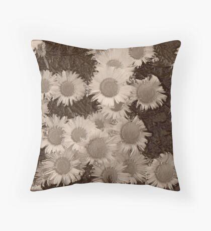 Sepia Throw Pillow
