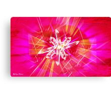 Crystal Light - abstract  Art + Products Design  Canvas Print