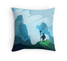Fierce Warrior Throw Pillow