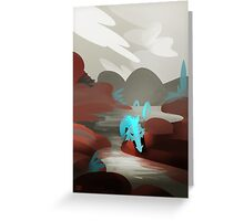 Dragon at the Lake Greeting Card