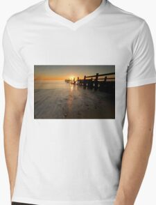 Happisburgh-sunrise Mens V-Neck T-Shirt