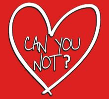 Can you not? with heart by masonsummer