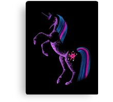 MLP Twilight Sparkle Minimal Abstract Drawing Canvas Print