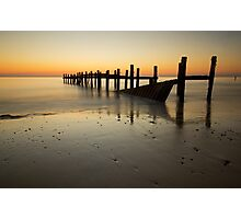Happisburgh-sunrise Photographic Print