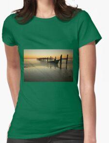 Happisburgh-sunrise Womens Fitted T-Shirt