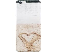 Sandy heart iPhone Case/Skin