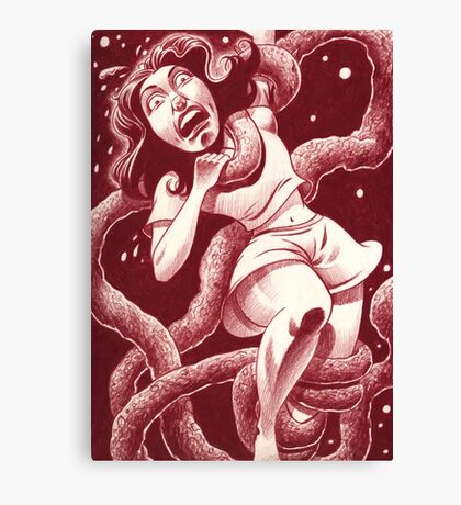 Nightmare sequence #2 Canvas Print