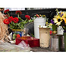 Farmers' Market Photographic Print