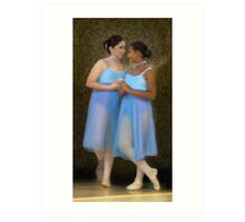 Before the Recital Art Print