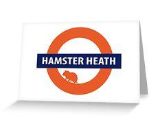 Hamster Heath Greeting Card