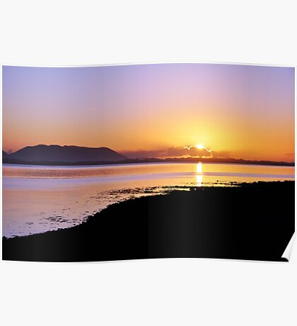 Sunset at Inch, Co. Kerry, Ireland Poster