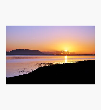 Sunset at Inch, Co. Kerry, Ireland Photographic Print