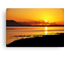 Sunset at Inch, Co. Kerry, Ireland 2 Canvas Print