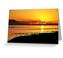 Sunset at Inch, Co. Kerry, Ireland 2 Greeting Card