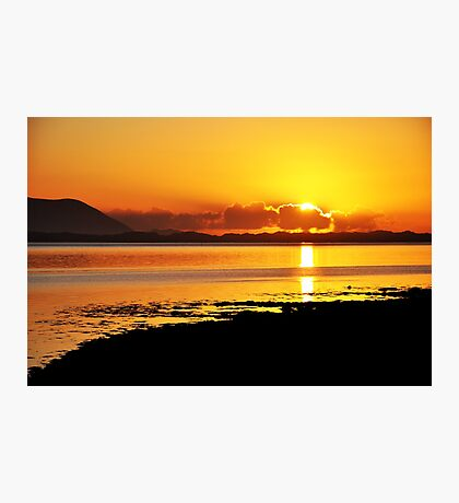 Sunset at Inch, Co. Kerry, Ireland 2 Photographic Print