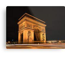 Paris, Arc de Triomphe Metal Print