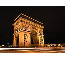 Paris, Arc de Triomphe Photographic Print