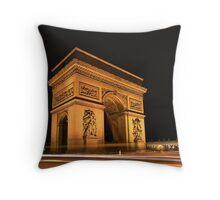 Paris, Arc de Triomphe Throw Pillow