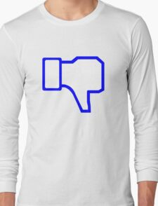 Dislike Symbol Long Sleeve T-Shirt