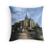 Mont St. Michel Throw Pillow