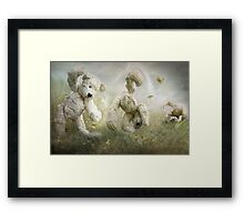 The Cartwheel Framed Print