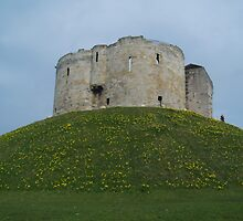 Clifford's Tower 2 by WatscapePhoto