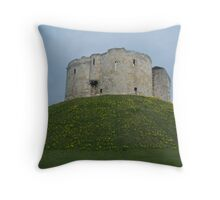 Clifford's Tower 2 Throw Pillow