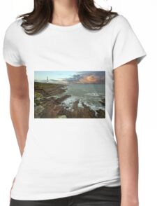Tarbat Ness Lighthouse Womens Fitted T-Shirt