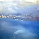 Bird view over Waikiki by Rosy Kueng