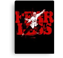 Fearless (with caption)  Canvas Print