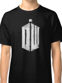 Doctor Who Grunge Classic T-Shirt