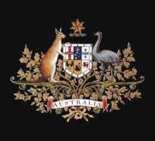 australian coat of arms by ralphyboy